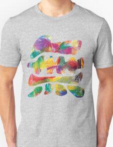 Colourful surfy mu Unisex T-Shirt
