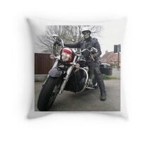 Skeggy Cruiser no lettering Throw Pillow
