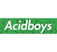 Acidboys Box Logo Photographic Print