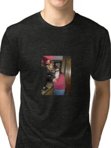 worm in the studio Tri-blend T-Shirt