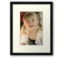 Sunny Smiles Framed Print