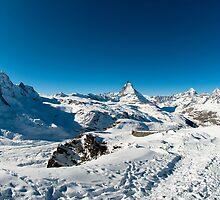 Matterhorn from Gornergrat by peterwey