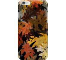 Oak Leaf Abstract iPhone Case/Skin
