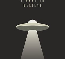 X Files - I Want To Believe by Ivan Krpan