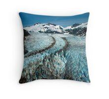 Herbert Glacier Throw Pillow