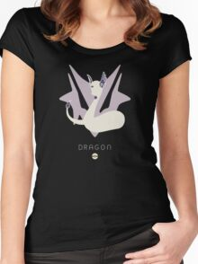Pokemon Type - Dragon Women's Fitted Scoop T-Shirt