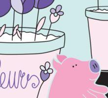 Piggy - Cute Collection Sticker