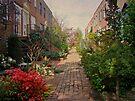 Philadelphia Courtyard - Symphony of Springtime Gardens by MotherNature