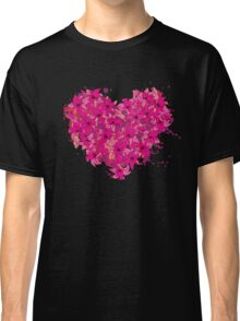 heart made of flowers Classic T-Shirt