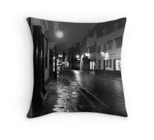 Cobbled Street Throw Pillow