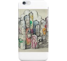 Graphitty City iPhone Case/Skin