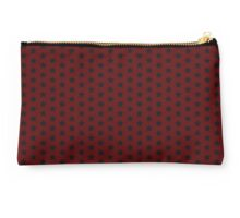 Red and Blue Stars Studio Pouch