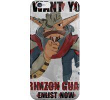 Join the Krimzon Gaurd iPhone Case/Skin