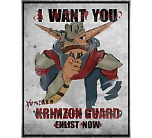 Join the Krimzon Gaurd Photographic Print