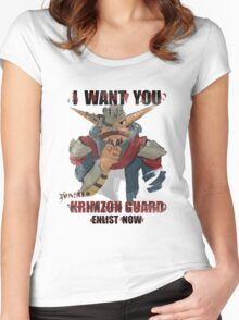 Join the Krimzon Gaurd Women's Fitted Scoop T-Shirt