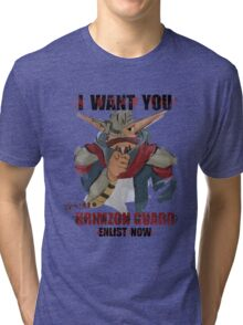 Join the Krimzon Gaurd Tri-blend T-Shirt