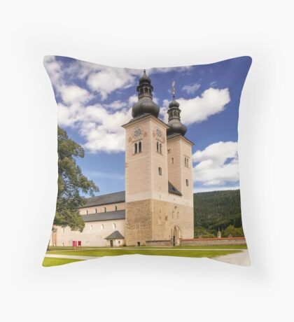Shrine of St. Hemma - Cathedral of Gurk Throw Pillow