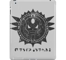 The Barron's order (black) iPad Case/Skin