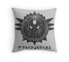 The Barron's order (black) Throw Pillow