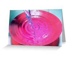 LIFE WATER Greeting Card
