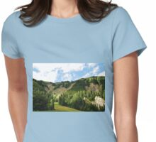 Friulian Dolomites  Womens Fitted T-Shirt