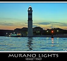 Murano lights by Angelo Vianello