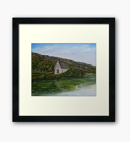 Gougane Barra, County Cork, Ireland Framed Print