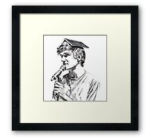 Bo Burnham Framed Print