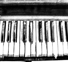 Eerie Piano Keyboard by Richard Dooley