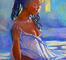 Lady In Blues by Jann Ashworth