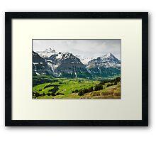 Grindelwald in Spring Framed Print