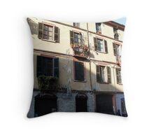 Balconys  Throw Pillow