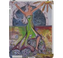 The Elements, Earth, Air, Fire, Water iPad Case/Skin