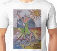 The Elements, Earth, Air, Fire, Water Unisex T-Shirt