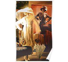 """""""Rita and Katrina"""" New Orleans Watercolor Poster"""