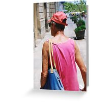 Wrinkle in colour Greeting Card