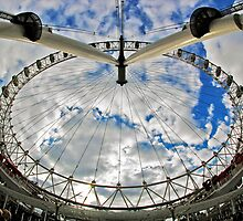 London Eye by Antonio Zarli