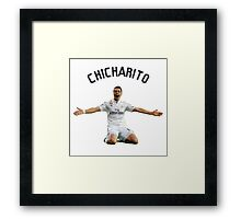 chicharito Framed Print