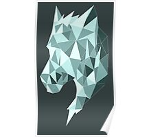 Diamond Wolf Poster