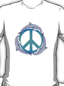 Dolphin Peace T-Shirt