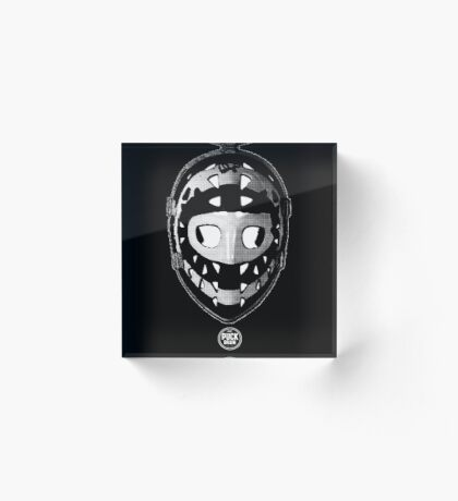 The Mask Acrylic Block