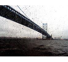 Benjamin Franklin Bridge Photographic Print