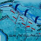 Map of the battle of the boyne. by Finbarr Reilly