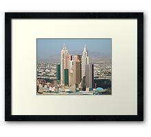 Penthouse View Framed Print