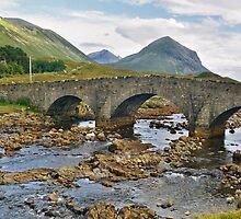 Sligachan Bridge and Marsco by WatscapePhoto