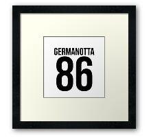 'GERMANOTTA 86'  Framed Print