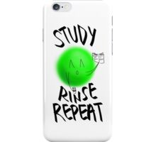 STUDY, RINSE, REPEAT -- v2 iPhone Case/Skin