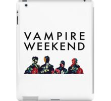 Vampire Weekend Silhouettes  iPad Case/Skin
