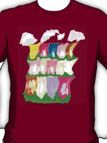 tulips and clouds T-Shirt