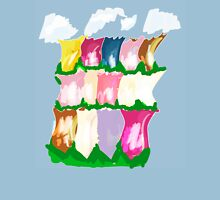 tulips and clouds Unisex T-Shirt